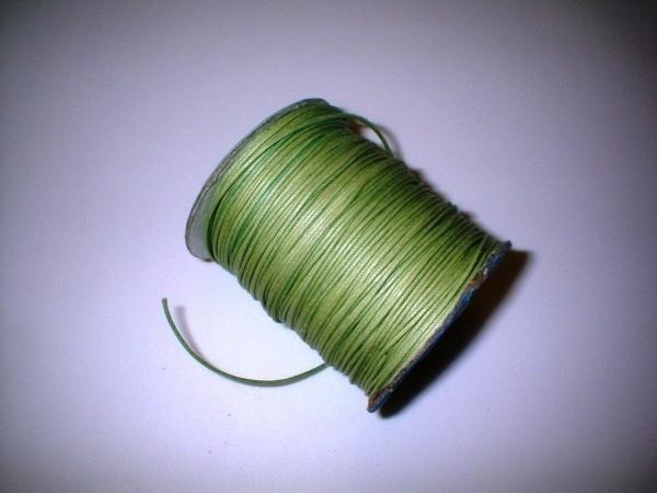 Waxkoord - groen - WK09