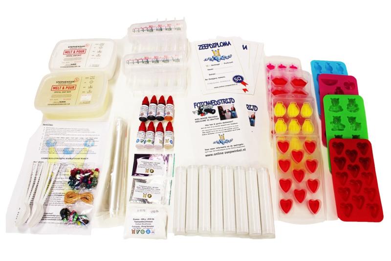 kit create your own soap + bath caviar   The Online Soap Shop