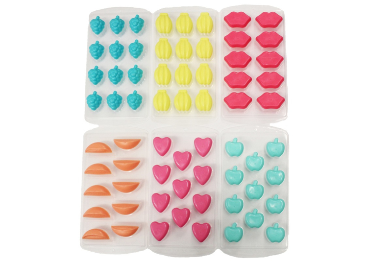 assortiment rubber / plastic mallen - 6 stuks - ZMR029