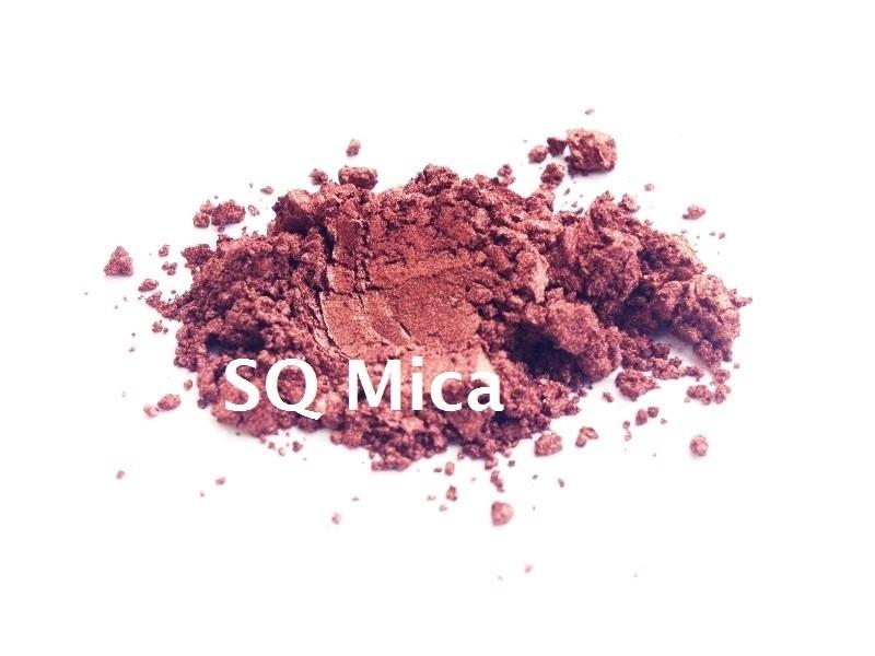 SQ Mica - Rood-Bruin Satin - KNM033