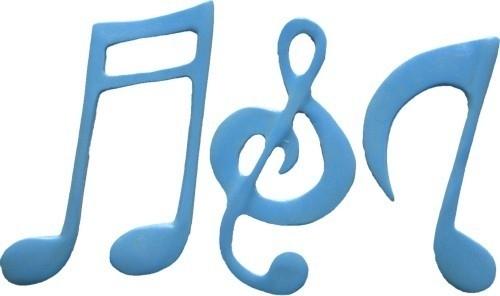 - AANBIEDING - First Impressions - Mal - Sport & Hobby - muzieknoten groot - SH139