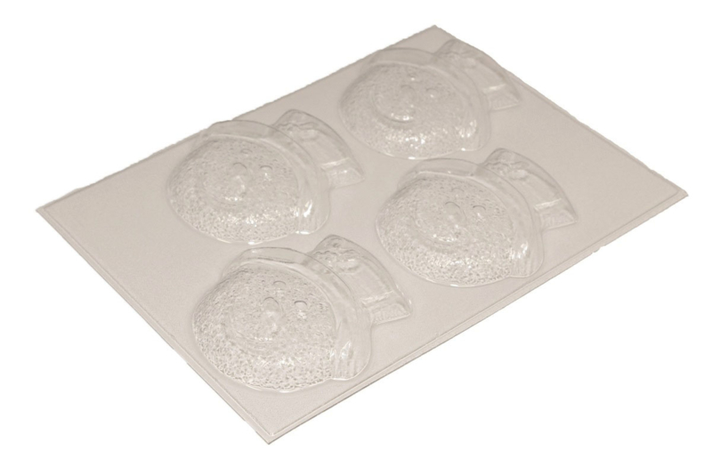 Soap mold - Snowman - 4 units - ZMP053