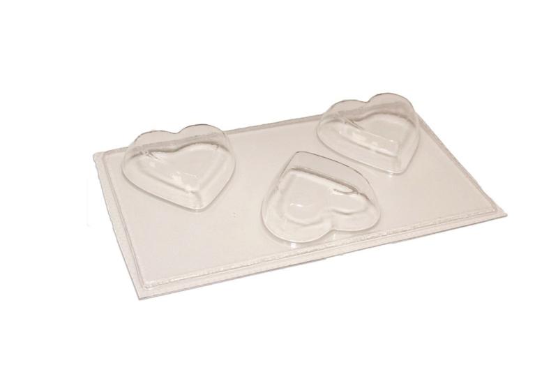 zeepmal - hart - medium - 3 stuks - ZMP017