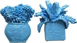 - AANBIEDING - First Impressions - Mal - Bloemen - bloempot + plant - FL163