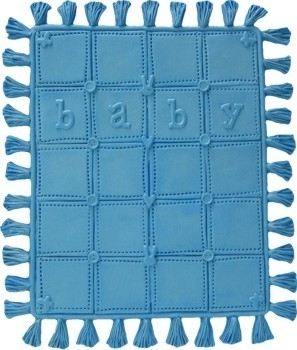 - SALE - First Impressions - Mold - Baby - blanket 1 - B218