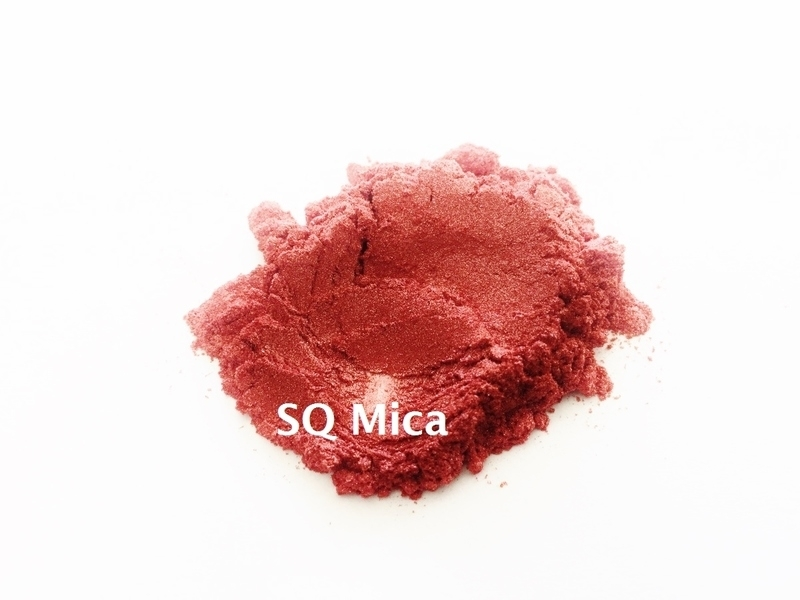 SQ Mica - Red dark - KNM052