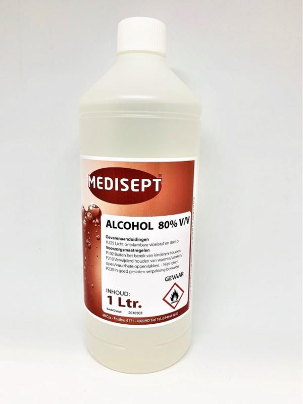 Alcohol Ketonatus 80% - OVL19