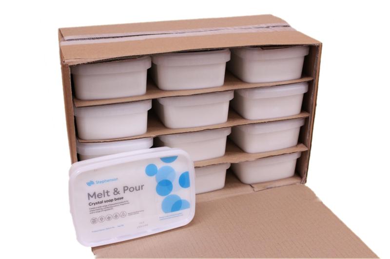 2Kg Melt and Pour Soap Base White SLS FREE