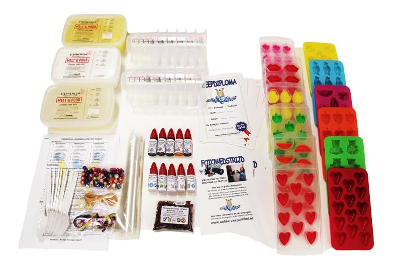 koopdoos / pakket zeep maken - 12 kinderen