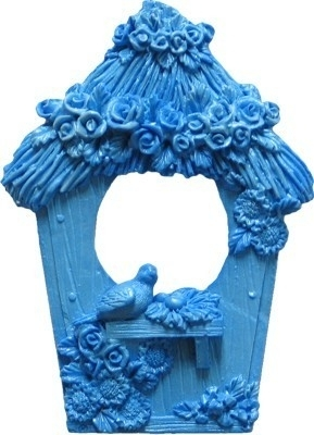 - SALE - First Impressions - Mold - Diverse -  birdhouse - MN262