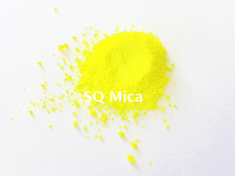 SQ Mica - Fluo Geel - KNM048