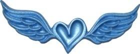 - AANBIEDING -  First Impressions - Mal  - Harten - Hart Met Vleugels - H150