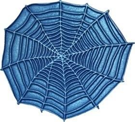 - AANBIEDING - First Impressions - Mal - Halloween - Spinnenweb - SE318