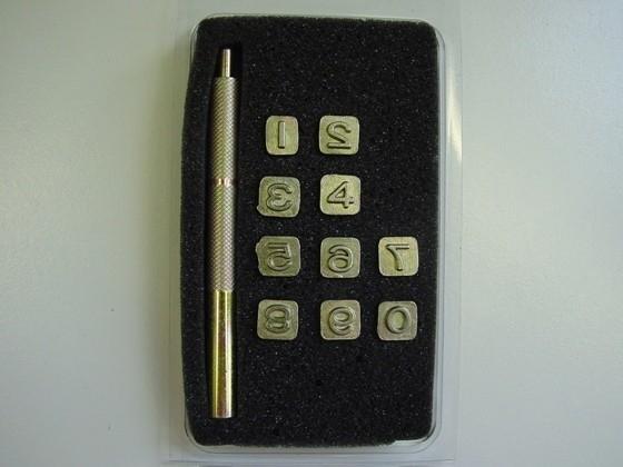 Zeep stempel set - cijfers small - ZES004