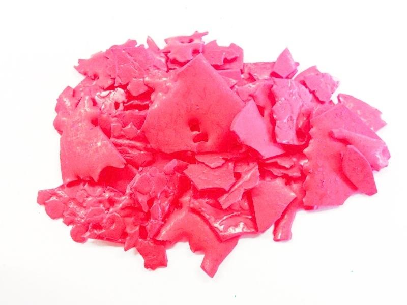 Kleurstof voor kaarsen en melts - fluo roze - KK15