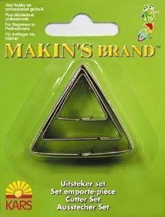 - AANBIEDING - uitsteker set - 3 stuks - driehoek - USZ003