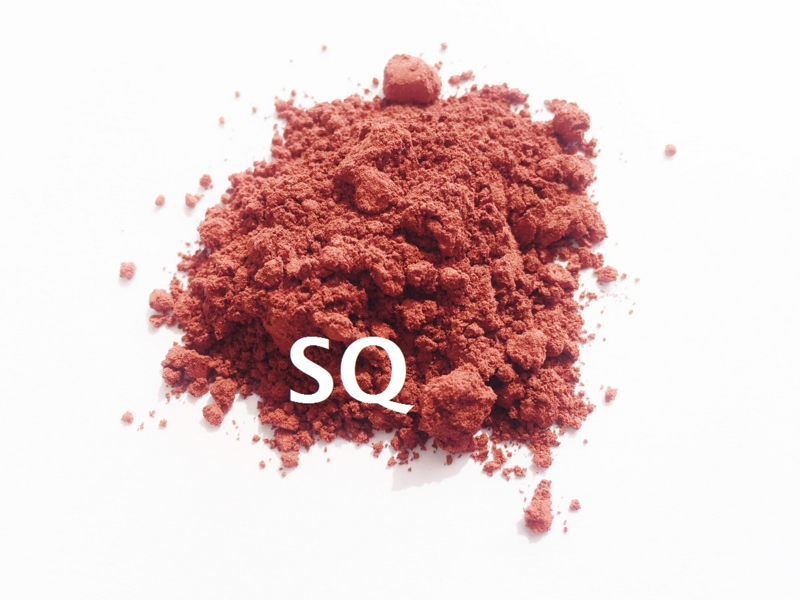 SQ Pure color pigment - Iron Oxide - Warm Red - KIO071