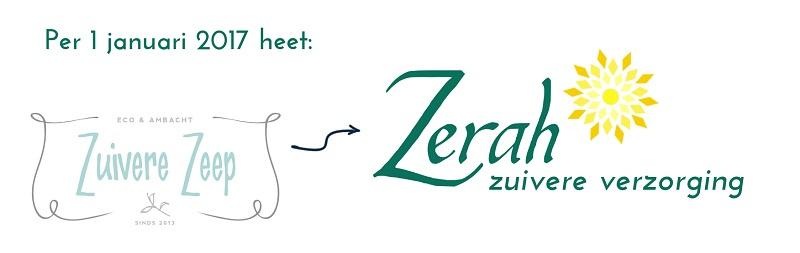 -                                 Zuivere Zeep wordt Zerah - Ondernemer van de maand