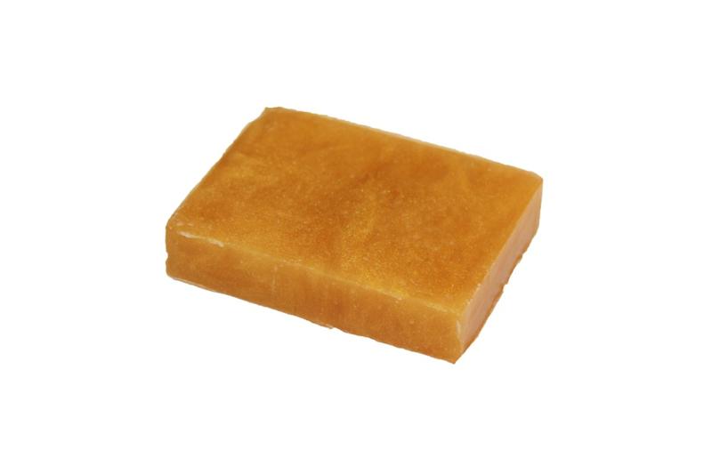 Glycerinezeep - Goud-geel Speciaal  - parelmoer - 100 gram - GLY159