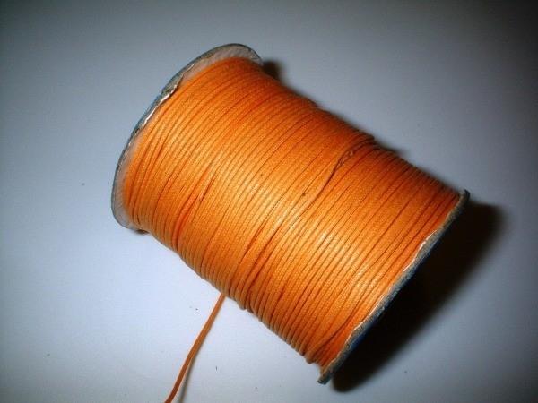 Waxkoord - oranje - WK10
