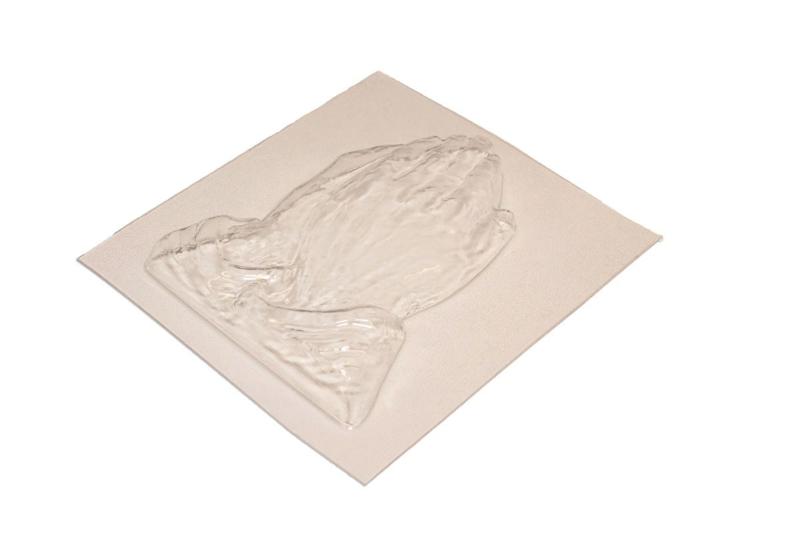 Zeepmal - biddende handen - extra groot - 1 stuk - ZMP002