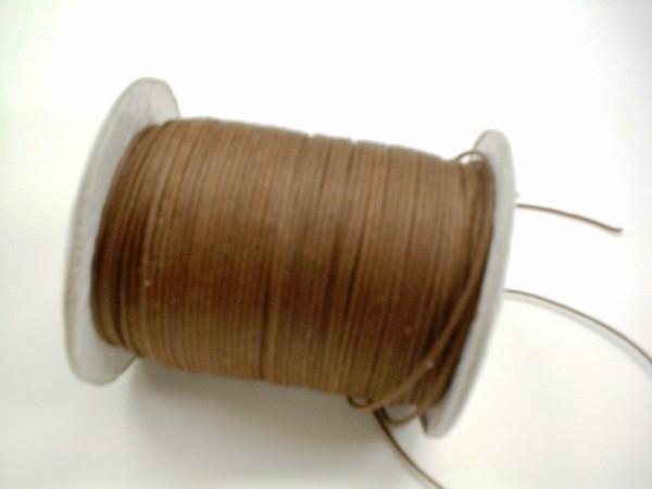 Waxkoord - koffie bruin - WK03