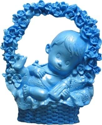 - AANBIEDING - First Impressions - Mal - Baby - jongen bloemenmand - B206