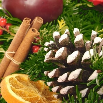 Geurolie voor cosmetica / gietzeep - Kerstgeur - Pot Pourri  Kerstmis - GOG041