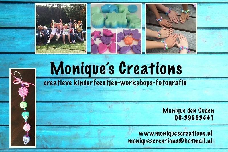 -                                  Monique's Creations - Ondernemer van de maand