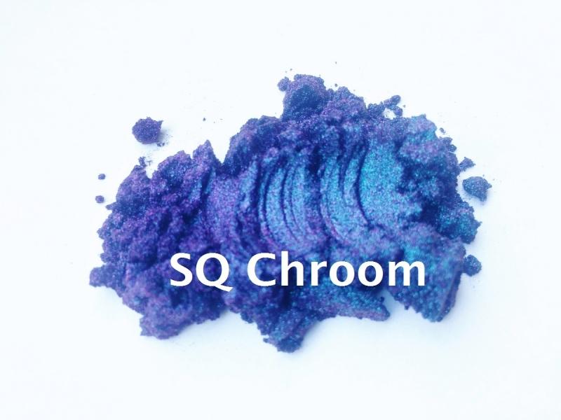 SQ Multi Chroom - Violet / Groen - KNM060