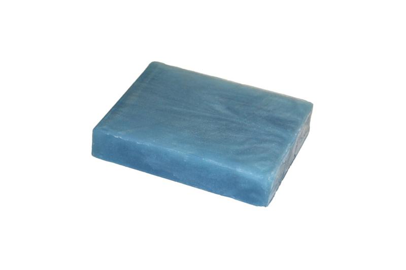 Glycerinezeep - Licht Blauw - 100 gram - GLY137 - parelmoer