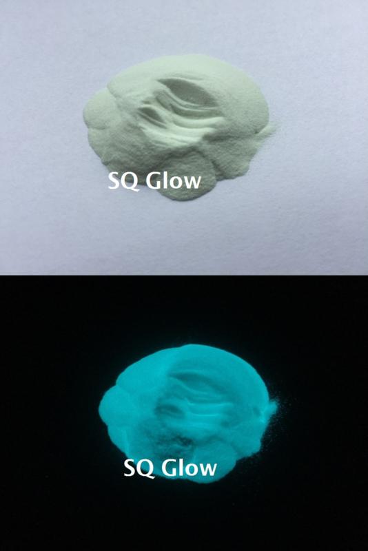 SQ Glow - Kleur pigment - Strontium aluminate - Blauw Groen - KOC065
