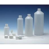 Fles (kunststof) - HDPE - semi transparant - FKD08