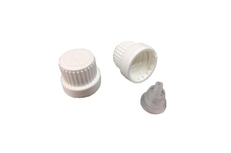 druppelteller + witte schroefdop met verzegeling - FKD33
