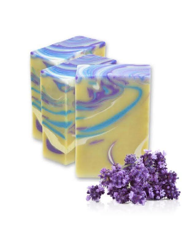 SQ-Natural - Olijfolie zeep - SQ-Natural - Olijfolie zeep - Berg Lavendel - SQN12