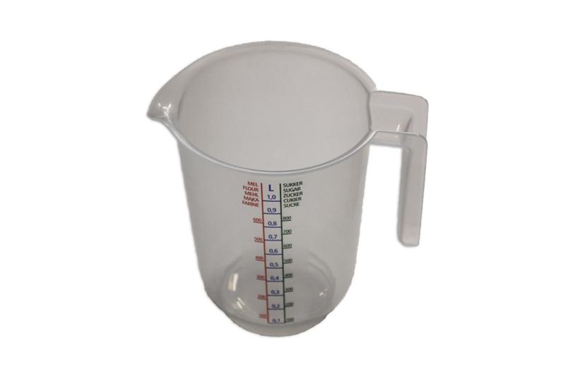 plastic maatbeker - soepel - 1.000 ml - MEM10
