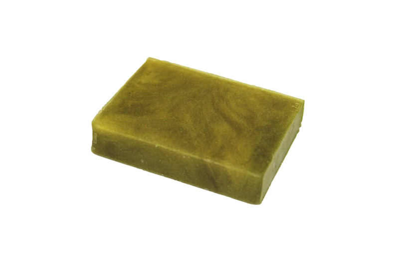 Glycerinezeep - Groen Olijf  - parelmoer - 100 gram - GLY160