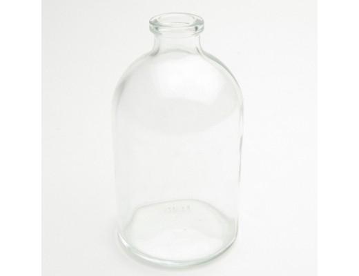 Glazen fles  - penicilline + kurk - 100 ml