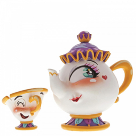 Mrs Potts & Chips  H10cm Disney by Miss Mindy 6001670