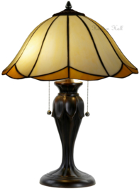 567 Tafellamp Tiffany H58cm Ø41cm Charme