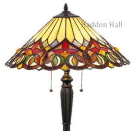 COT14 Vloerlamp H160cm met Tiffany kap Ø52cm Sydän
