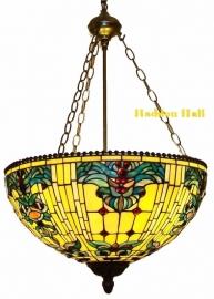 5424 8842 Hanglamp Tiffany Ø50cm Blue-Oyster