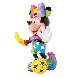 Minnie Mouse Football H15cm Disney by Britto