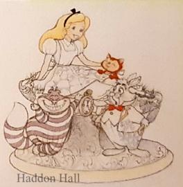 Alice in Wonderland White Woodland H17cm Jim Shore 6005957