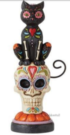Day of the Dead Black Cat H16,5cm Jim Shore 6010670