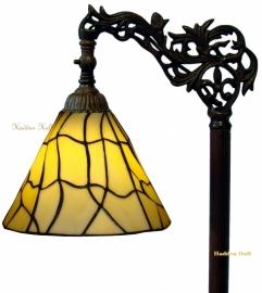5693 9458 Vloerlamp H164cm met Tiffany kap Ø25cm