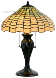 5974 5500 Tafellamp Tiffany H60cm Ø40cm Shell