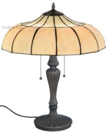 5982 5813 Tafellamp Tiffany H70cm Ø46cm Korset