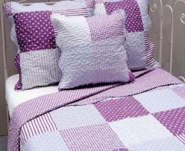 Q140 Clayre & Eef Bedsprei 230 x 260 cm Quilt Patchwork-style