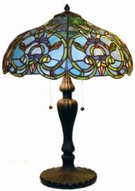 5616 5582 Tafellamp Tiffany H65cm Ø47cm Downton